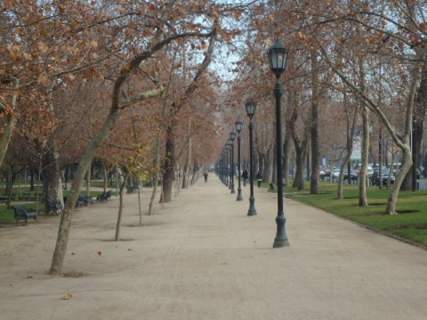 Parque Forestal - Santiago