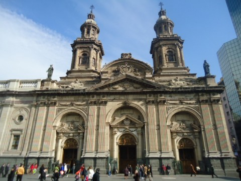 Catedral de Santiago do Chile - Vista externa
