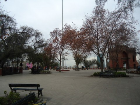 Cerro Santa Lucia - Santiago - Chile