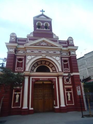 Iglesia de Vera Cruz - Barrio Lastarria - Santiago - Chile