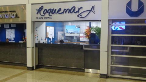 Agência Roquemar no Aeroporto de Maiquetia - Caracas
