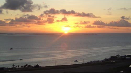 Pôr do sol em Los Roques
