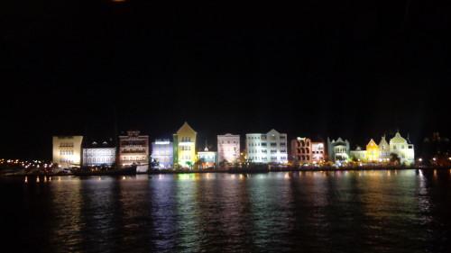 Casarões em Curaçao
