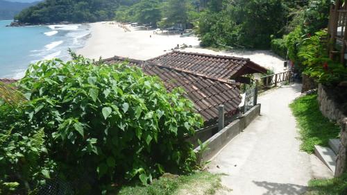 Escadaria Praia da Almada - Praia do Engenho - Ubatuba