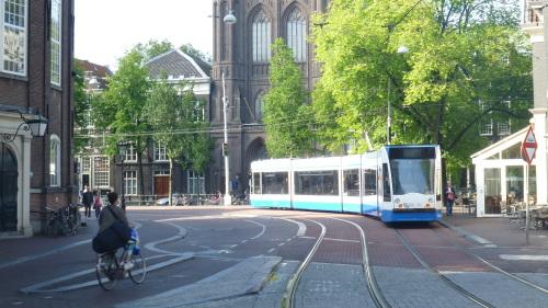 Como se Locomover em Amsterdam - Tram