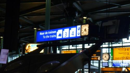 Trem Aeroporto Schiphol Amsterdam