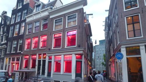 Luzes Vermelhas em Amsterdam