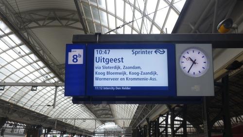Trem para Zaanse Schans