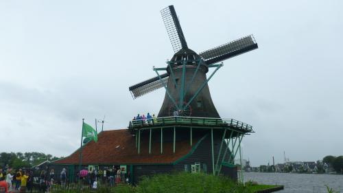 Moinho de Vento em Zaanse Schans