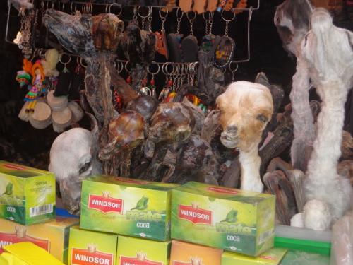 Mercado de Las Brujas - La Paz - Bolívia