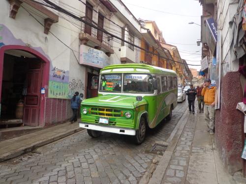 Ônibus em La Paz