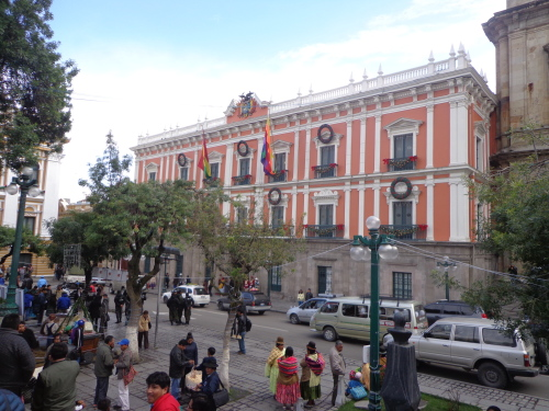 Plaza Murillo - La Paz - Bolívia