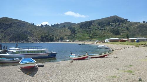 Challa - Isla del Sol - Lago Titicaca - Bolívia