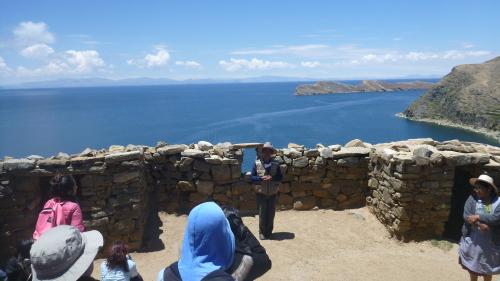 Ruínas Chinkana - El Labirinto - Isla del Sol - Lago Titicaca - Bolívia