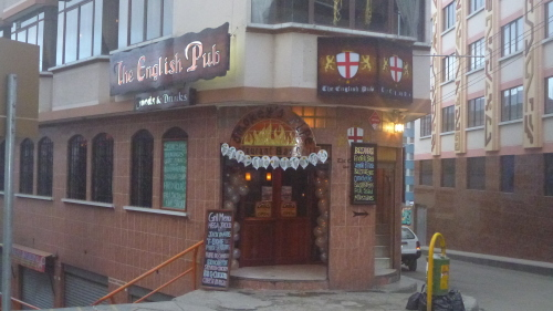 The English Pub - La Paz - Bolívia