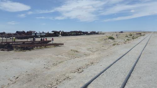 Cementerio de Trenes - Uyuni - Bolívia