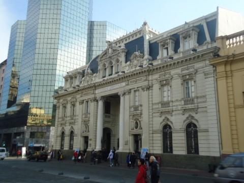 Correo Central em Santiago