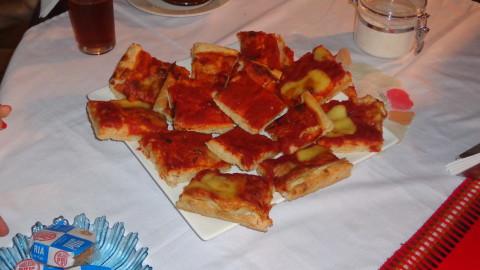 Pizza em Los Roques
