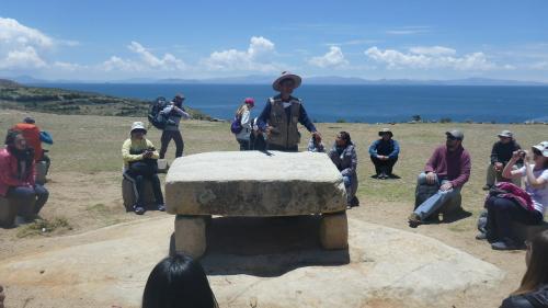 Mesa Ritual - Isla del Sol